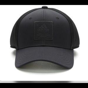 New exclusive adidas triple black hat